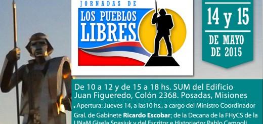 Realizarán unas jornadas de debate sobre la Liga de los Pueblos Libres