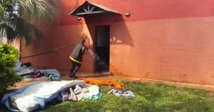 Un incendio afectó el albergue Lucas Vega en Garupá