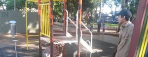 Posadas puso en marcha un plan para acondicionar espacios públicos