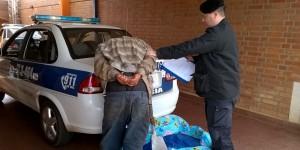Un hombre detenido por robar en una obra en construcción