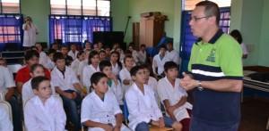 Realizan charlas de educación vial en escuelas de Eldorado