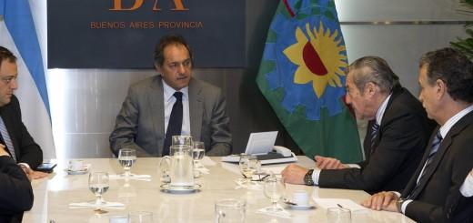 Scioli reafirmó su compromiso con el mercado interno al reunirse con la Cámara Argentina de Comercio