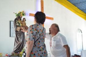 La comunidad obereña agradeció a San José en su día