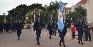 En Oberá la Policía también celebró el 159 aniversario de su creación