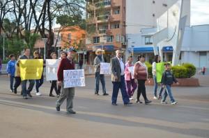 En Oberá marcharon por el esclarecimiento de la muerte de un joven y pidiendo medidas contra vendedores de droga