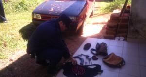 Detuvieron a un joven que sería parte de una banda de asaltantes en Oberá: secuestraron armas de fuego y dinero