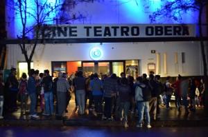 El espacio INCAA reinauguró su sala en Oberá, con una función 3D colmada de espectadores