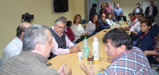 Más apoyos: Frente Sindical manifestó su respaldo a la candidatura de Passalacqua