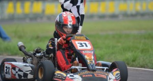 Karting: Salió el sol y hubo un gran espectáculo en Alem por la 3era fecha