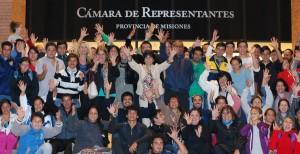 Integrantes de la Asociación de Sordos de Misiones visitaron la Legislatura