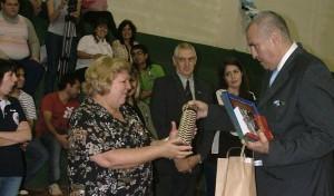 """Eldorado celebró el 25 de mayo con la presencia de la hija del """"Che"""" Guevara"""