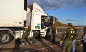 Apresaron a camionero que traía marihuana desde Brasil