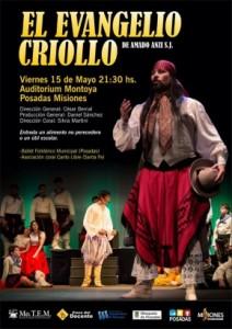 """Mañana 50 artistas pondrán en escena la opera musical """"el Evangelio Criollo"""""""
