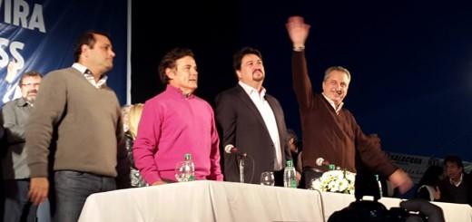 """La Renovación presentó a Passalacqua y Herrera como la fórmula de """"la confianza"""""""