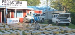 Golpe al narcotráfico: Prefectura incautó droga por 16 millones de pesos y detuvo a seis personas