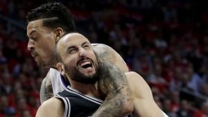 Ginóbili, con dudas sobre su permanencia en San Antonio Spurs