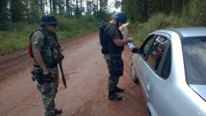 Varios detenidos y secuestros en megaoperativos policiales en Iguazú y Eldorado