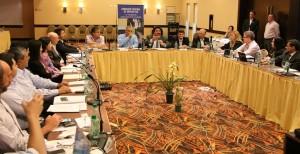 Closs encabezó el cierre del debate de la Comisión Federal de Impuestos