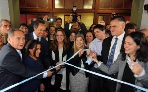 Scioli y Alicia Kirchner inauguraron hogar de tránsito para víctimas de violencia de género