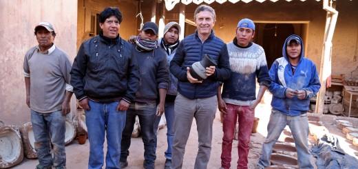 """Macri: """"Vamos a generar mucho trabajo para todos los jujeños"""""""