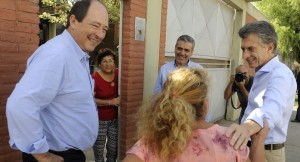 Antes de llegar a Misiones, Macri estuvo en Tucumán acompañado por Sanz