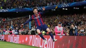 Champions League: con dos de Messi, Barcelona le ganó 3 a 0 al Bayern en la ida de las semis