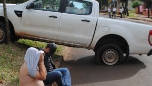Tras persecución detuvieron a dos personas vinculadas a varios hechos delictivos