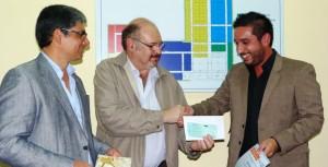 Entregaron los premios a los ganadores del concurso para creación de identidad visual del Parque Industrial Posadas