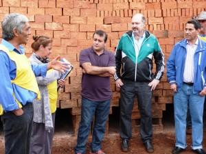 Entregaron equipamientos a la cooperativa de ladrilleros del barrio el Porvenir II