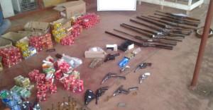 Arsenal en una despensa: le negaron la excarcelación detenido en  San Vicente
