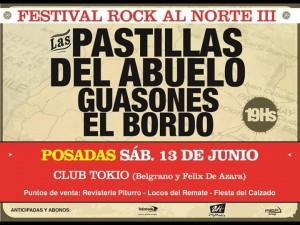 """En junio se realizará el festival """"Rock al Norte"""" en Posadas"""
