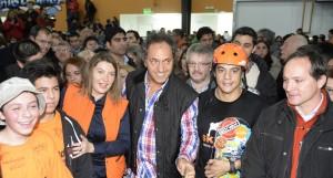 """Scioli: """"Mi compromiso es trabajar incansablemente para hacer realidad el sueño de cada pibe de toda la Argentina"""""""