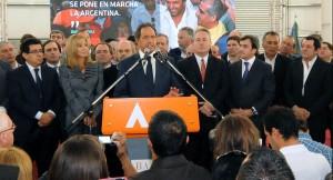 """Scioli: """"La industrialización llegó para quedarse"""""""