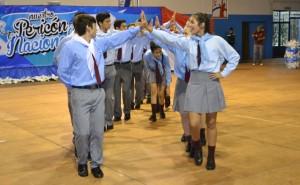 Más de 1000 alumnos participaron del Encuentro Pericón Nacional en Eldorado