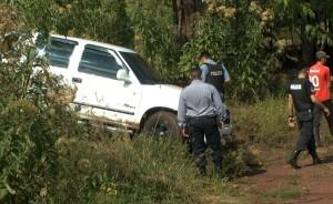 Eldorado: siguen prófugos los ocupantes de la camioneta abandonada