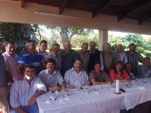 Intendentes de la Codeim se reunieron con el ministro del Agro