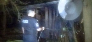 Siete detenidos por intentar quemar la casa de sus vecinos
