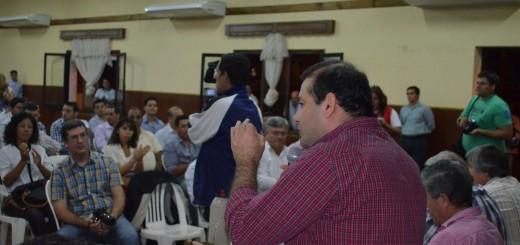 """Ahuad: """"Los desafíos del crecimiento y el desarrollo están en lo social"""""""