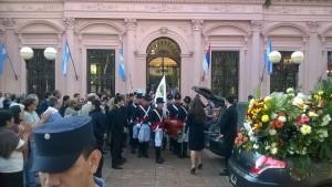 Dirigentes y militantes le dieron el último adiós a Julio Humada