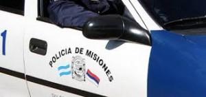 En Capioví, colisionaron automóvil y un colectivo: un herido