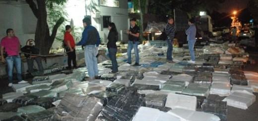 Mar del Plata: procesaron a nueve personas por transportar casi tres toneladas de marihuana desde Misiones