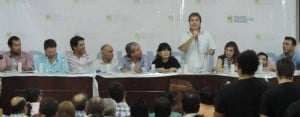 """Irrazábal: """"El candidato es el proyecto"""""""