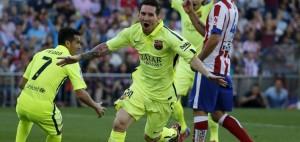 Barcelona se consagró campeón de la Liga con un Messi estelar