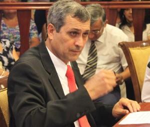 """Agresiva campaña de un candidato en Iguazú: """"De entre mis funcionarios quien cometa un acto de corrupción, primero le vuelo dos dientes"""""""