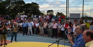 Passalacqua anunció la creación del Ministerio del Deporte