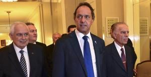 """Scioli: """"Mi objetivo es ser el presidente de la producción y de la inversión"""""""