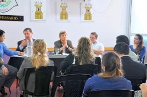 La fiscal Picazo y el juez D`Orsaneo visitaron elServcio Penitenciario para interiorizarse sobre la resocialización