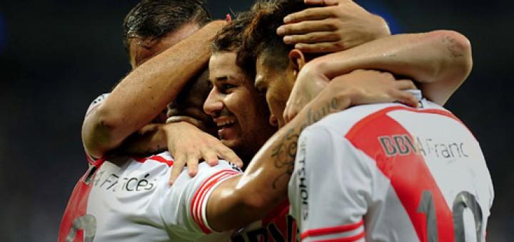 Copa Libertadores: River ganó con justicia 3 a 0 en Brasil y se metió a semifinales