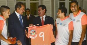 Scioli se reunió en Asunción con el presidente de Paraguay, Horacio Cartes