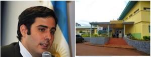 Sebely recibe el certificado como director más joven del mundo y donaciones para el hospital de Alem